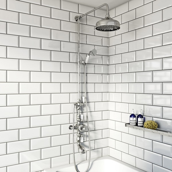 The Bath Co. Winchester dual valve shower bath system